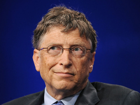 Bill Gates, Microsoft Chairman and Co-Chair and Trustee of the Bill & Melinda Gates Foundation, takes part in a panel discussion titled ''Investing in African Prosperity'' at the Milken Institute Global Conference in Beverly Hills, California May 1, 2013 (Credit: Reuters/Ruelas)